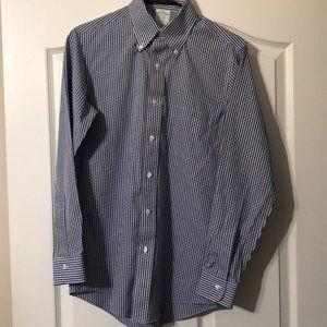 Brooks Brothers 14.5-32 Milano Polo Dress Shirt
